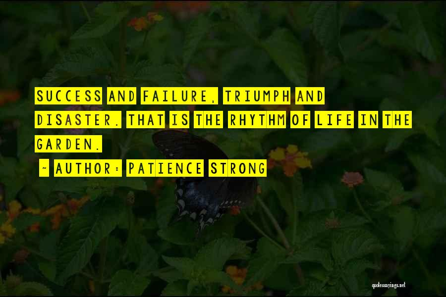 Failure And Success In Life Quotes By Patience Strong