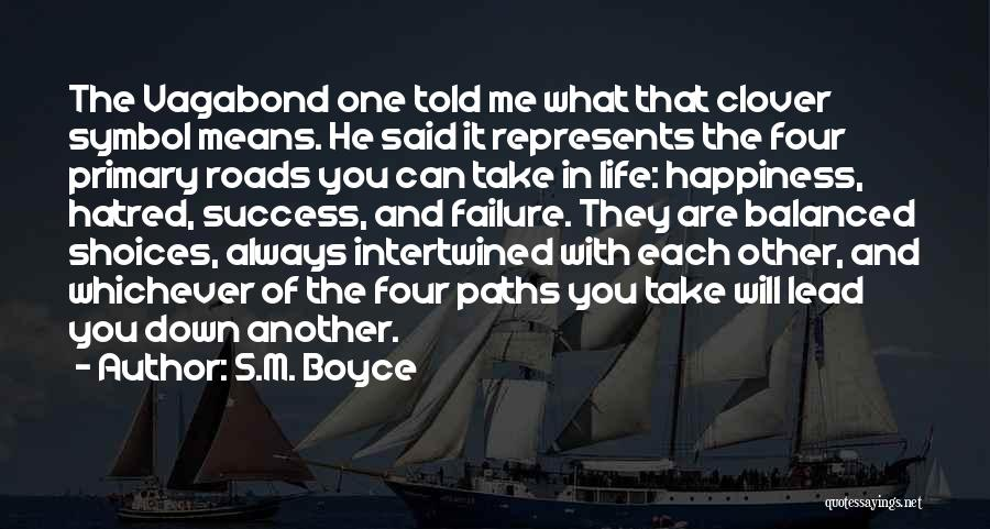 Failure And Success In Life Quotes By S.M. Boyce