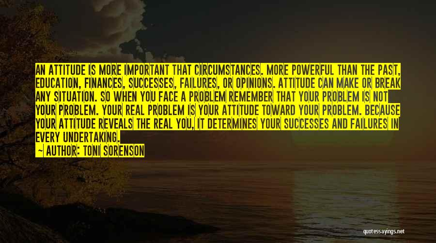 Failure And Success In Life Quotes By Toni Sorenson