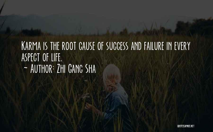 Failure And Success In Life Quotes By Zhi Gang Sha