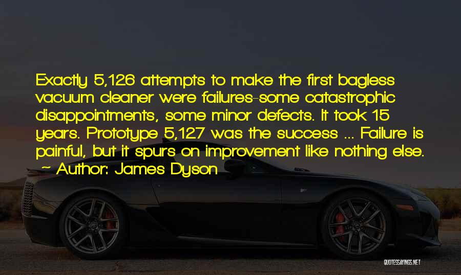 Failures To Success Quotes By James Dyson