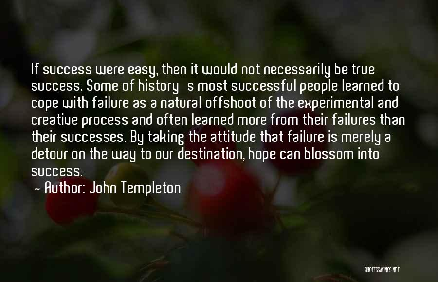 Failures To Success Quotes By John Templeton