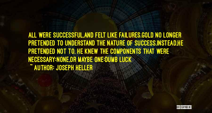 Failures To Success Quotes By Joseph Heller