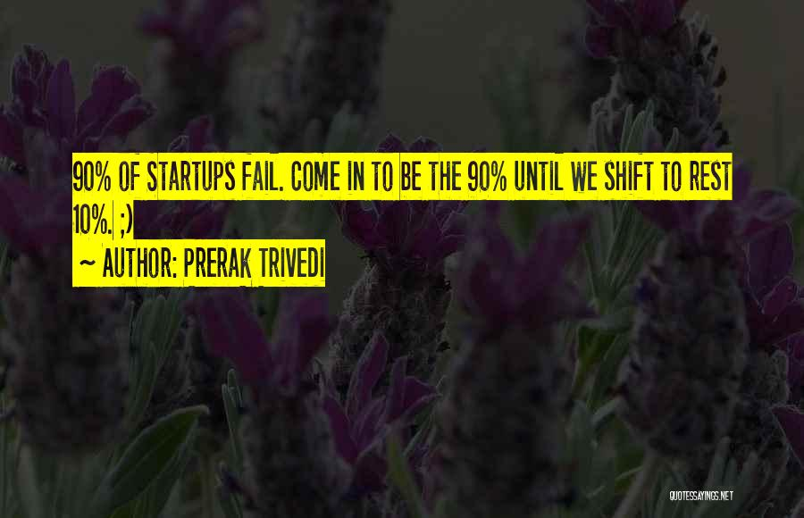 Failures To Success Quotes By Prerak Trivedi
