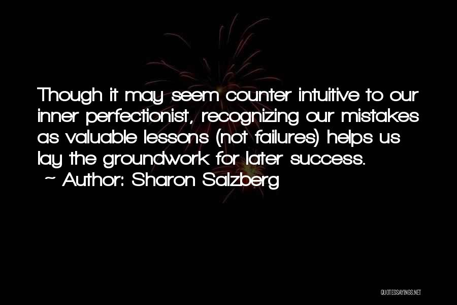 Failures To Success Quotes By Sharon Salzberg