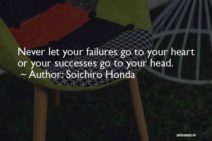 Failures To Success Quotes By Soichiro Honda