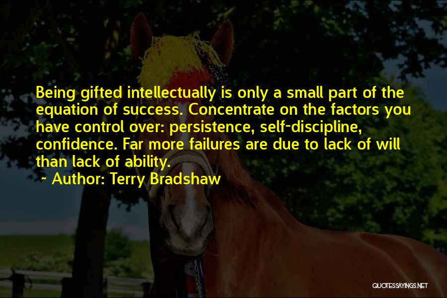 Failures To Success Quotes By Terry Bradshaw