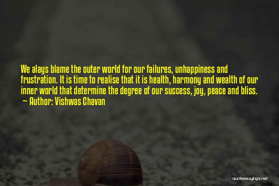 Failures To Success Quotes By Vishwas Chavan