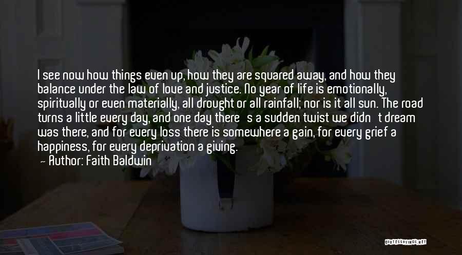 Faith And Loss Quotes By Faith Baldwin