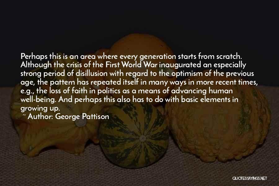 Faith And Loss Quotes By George Pattison