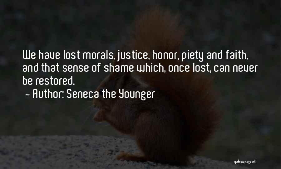 Faith And Loss Quotes By Seneca The Younger