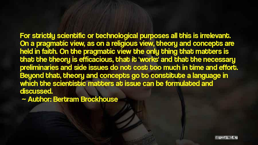Faith And Works Quotes By Bertram Brockhouse
