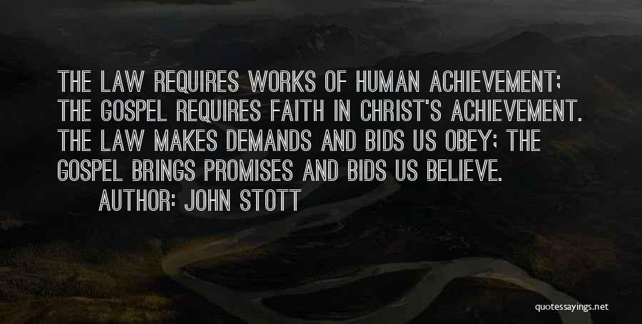 Faith And Works Quotes By John Stott