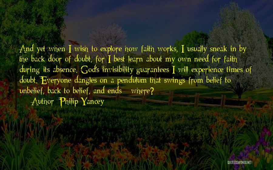 Faith And Works Quotes By Philip Yancey