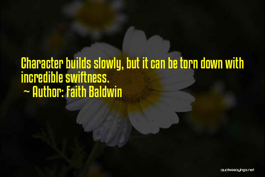 Faith Baldwin Quotes 1299899