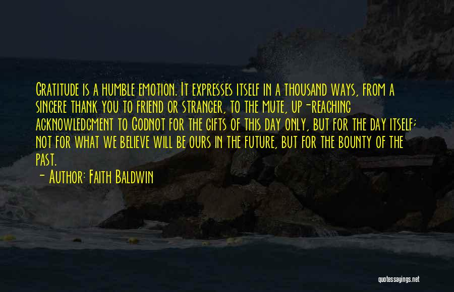 Faith Baldwin Quotes 1410885