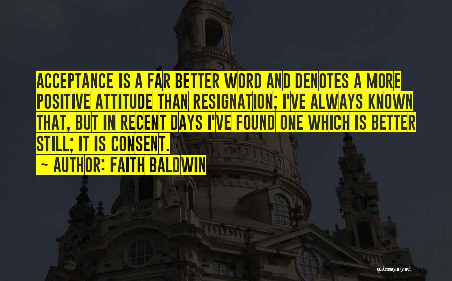 Faith Baldwin Quotes 168615