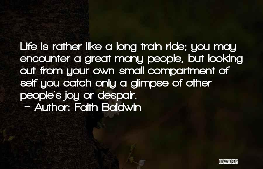 Faith Baldwin Quotes 1814498