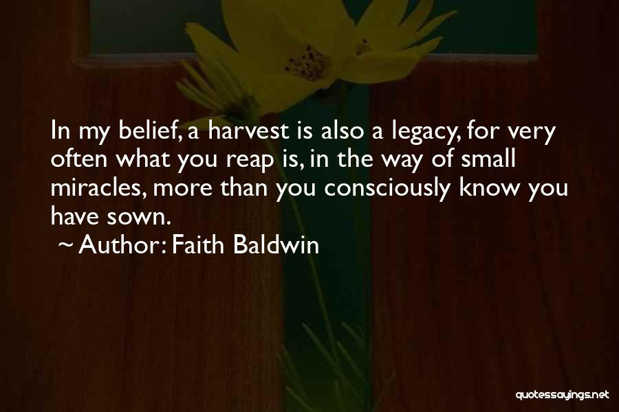 Faith Baldwin Quotes 1845840