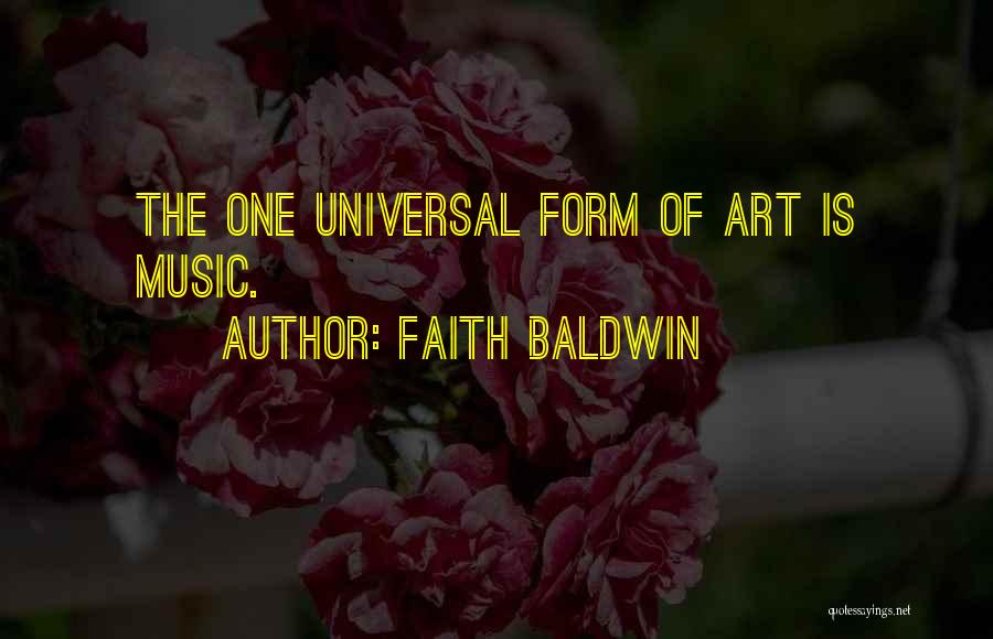 Faith Baldwin Quotes 271745
