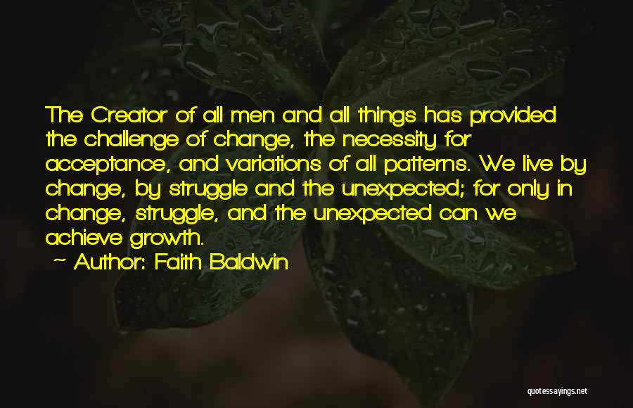 Faith Baldwin Quotes 669489