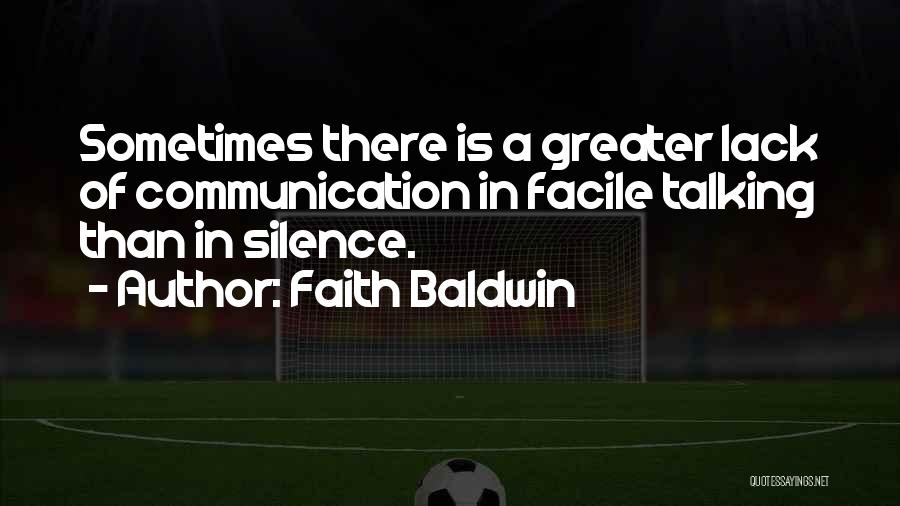 Faith Baldwin Quotes 984516