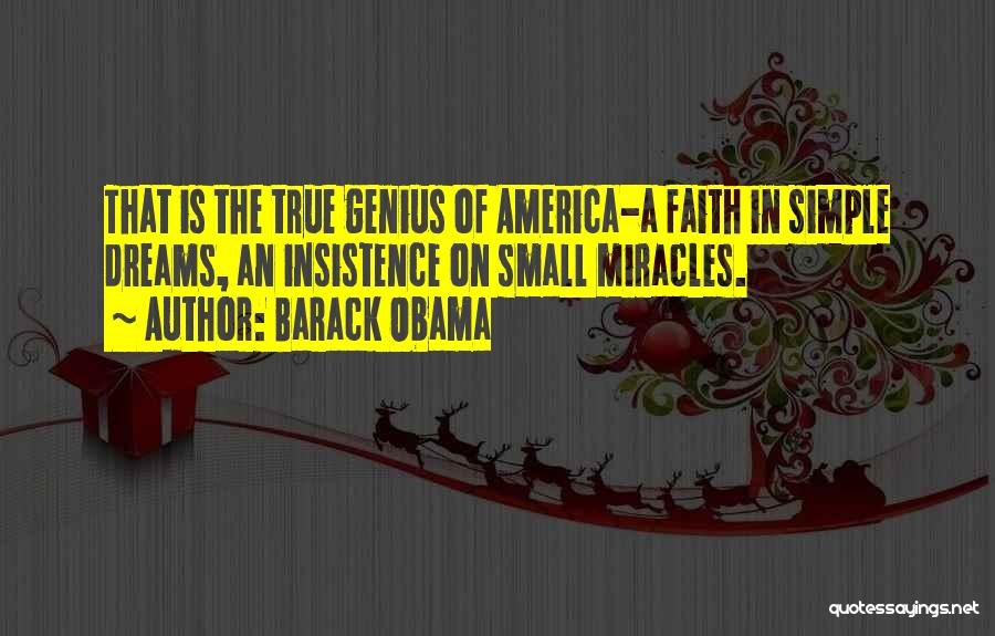 Faith In Dreams Quotes By Barack Obama