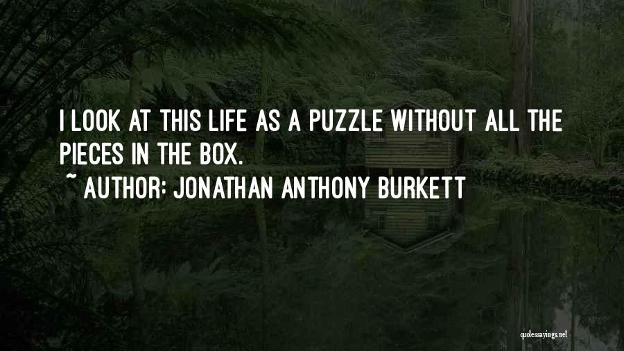 Faith In Dreams Quotes By Jonathan Anthony Burkett