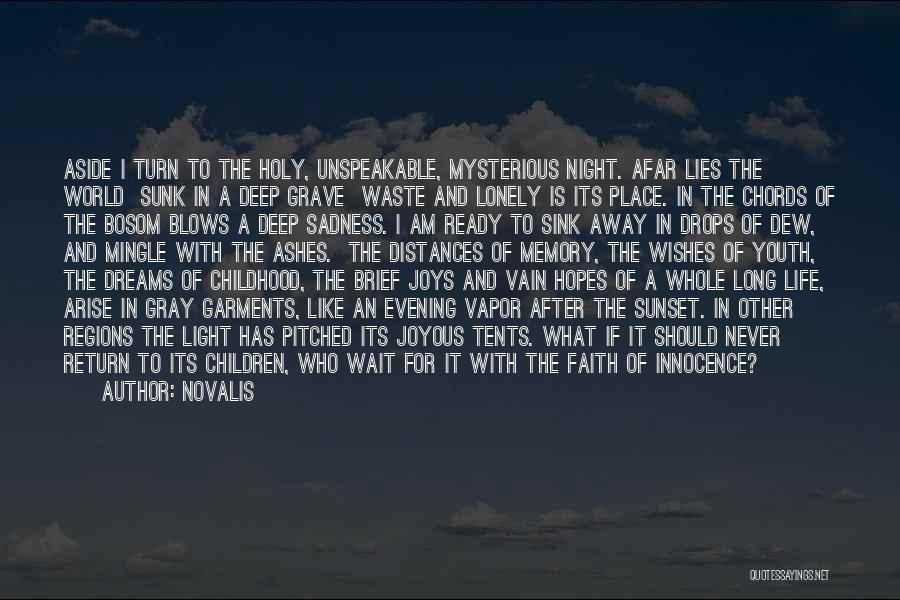 Faith In Dreams Quotes By Novalis