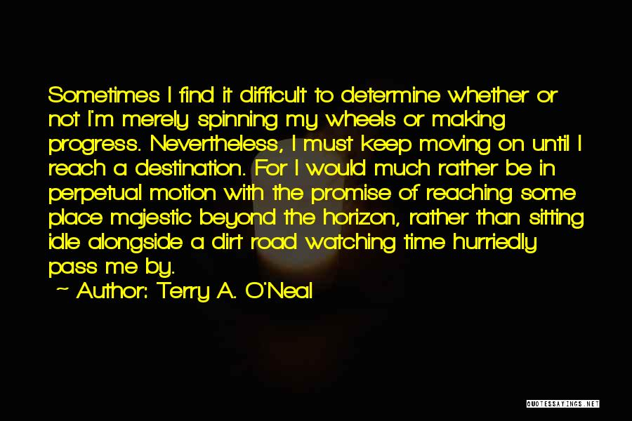 Faith In Dreams Quotes By Terry A. O'Neal