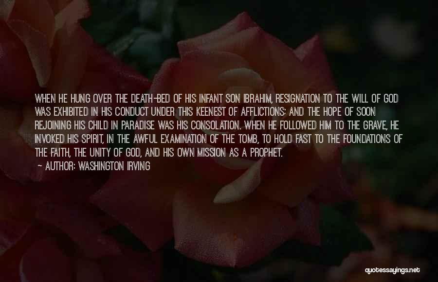 Faith In Him Quotes By Washington Irving