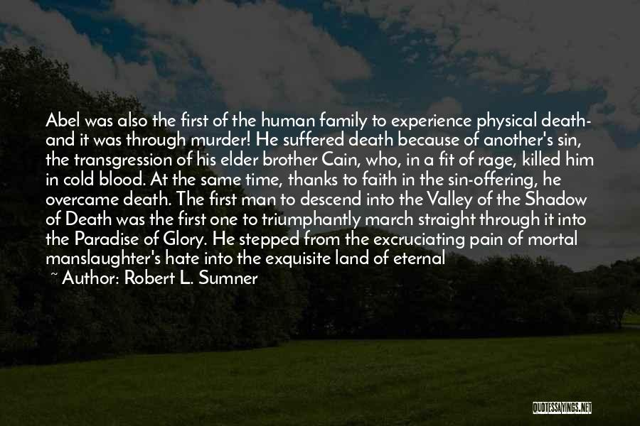 Faith In The Valley Quotes By Robert L. Sumner