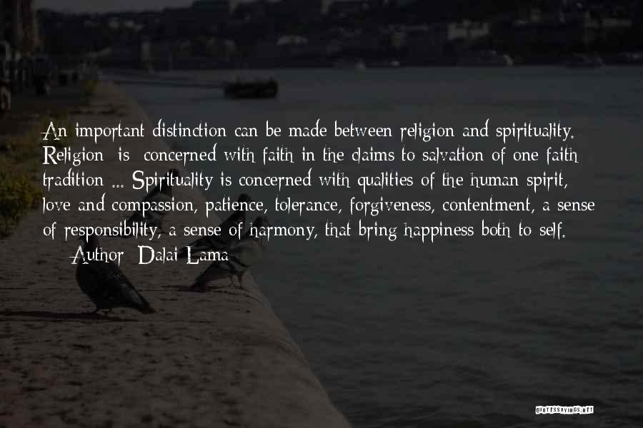 Faith Love And Happiness Quotes By Dalai Lama