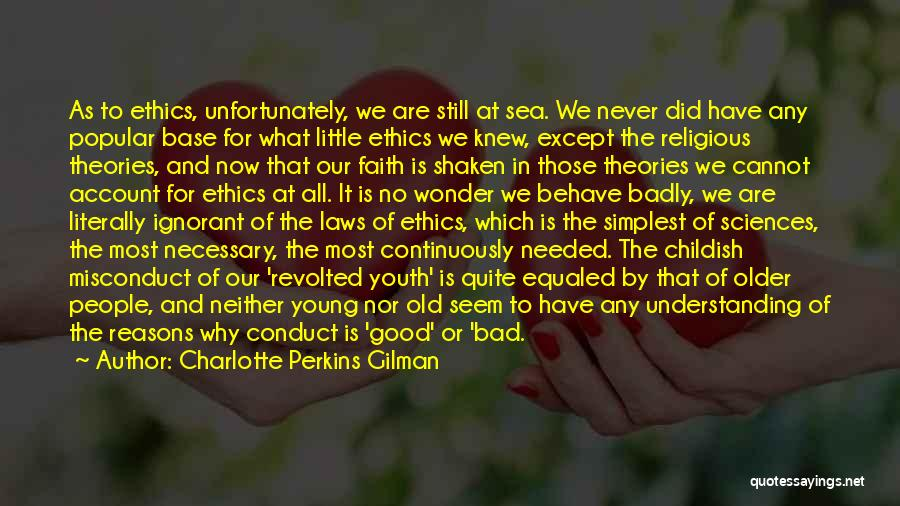 Faith Shaken Quotes By Charlotte Perkins Gilman