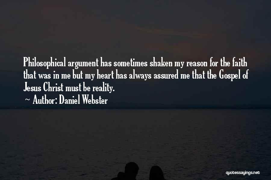Faith Shaken Quotes By Daniel Webster