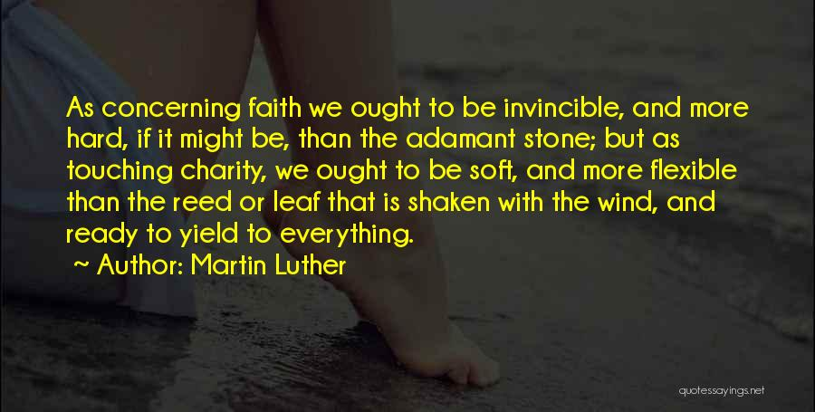 Faith Shaken Quotes By Martin Luther