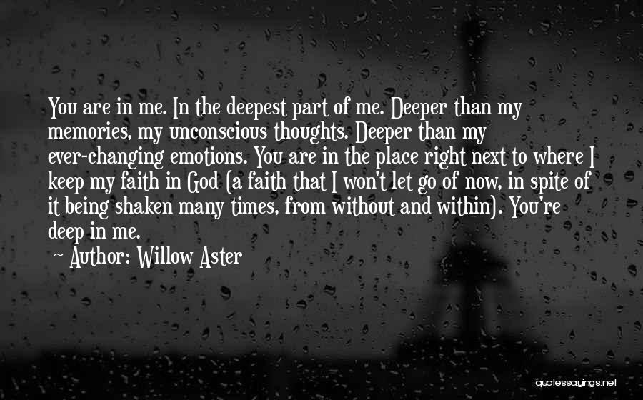 Faith Shaken Quotes By Willow Aster