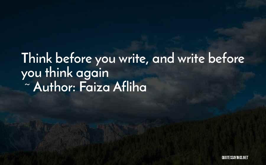 Faiza Afliha Quotes 228314