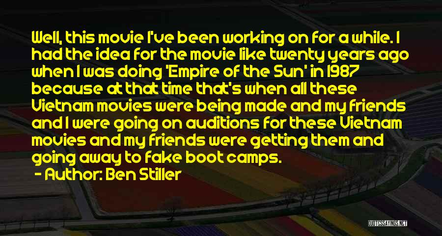 Fake Best Friends Quotes By Ben Stiller