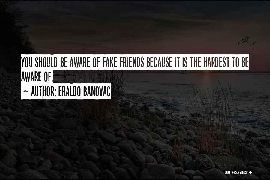 Fake Best Friends Quotes By Eraldo Banovac