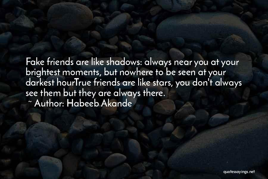 Fake Best Friends Quotes By Habeeb Akande