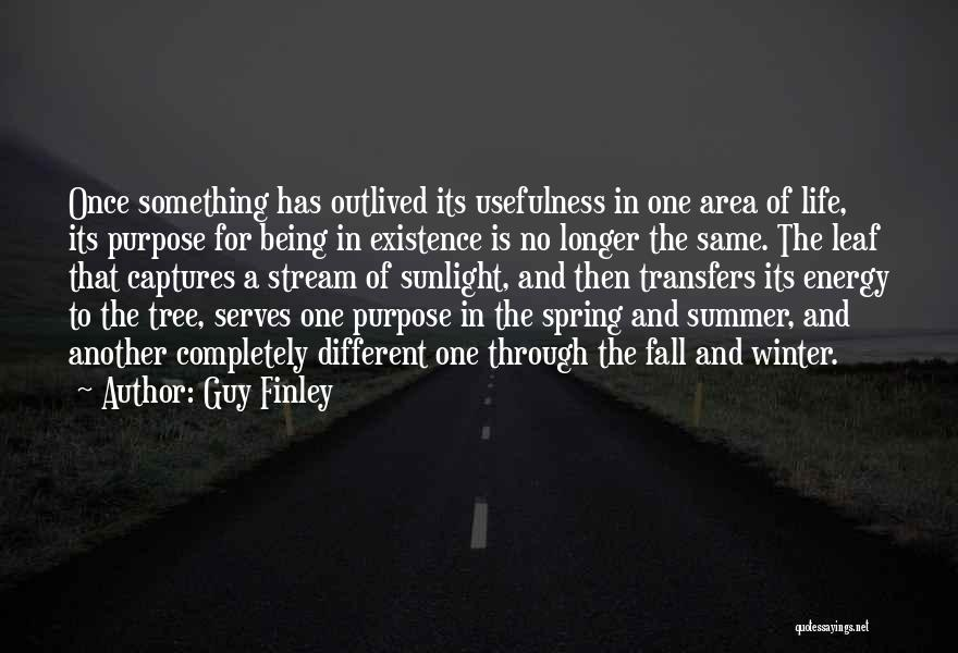 Fall And Winter Quotes By Guy Finley