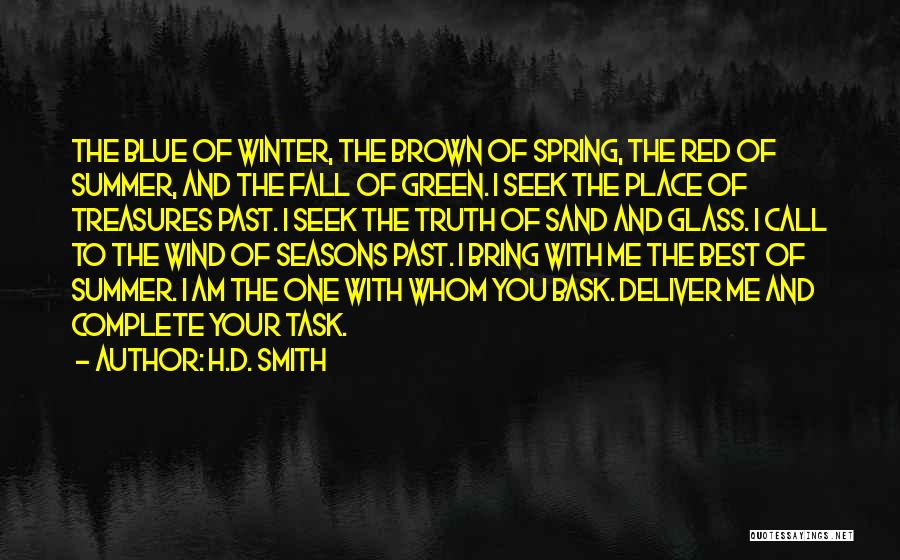 Fall And Winter Quotes By H.D. Smith