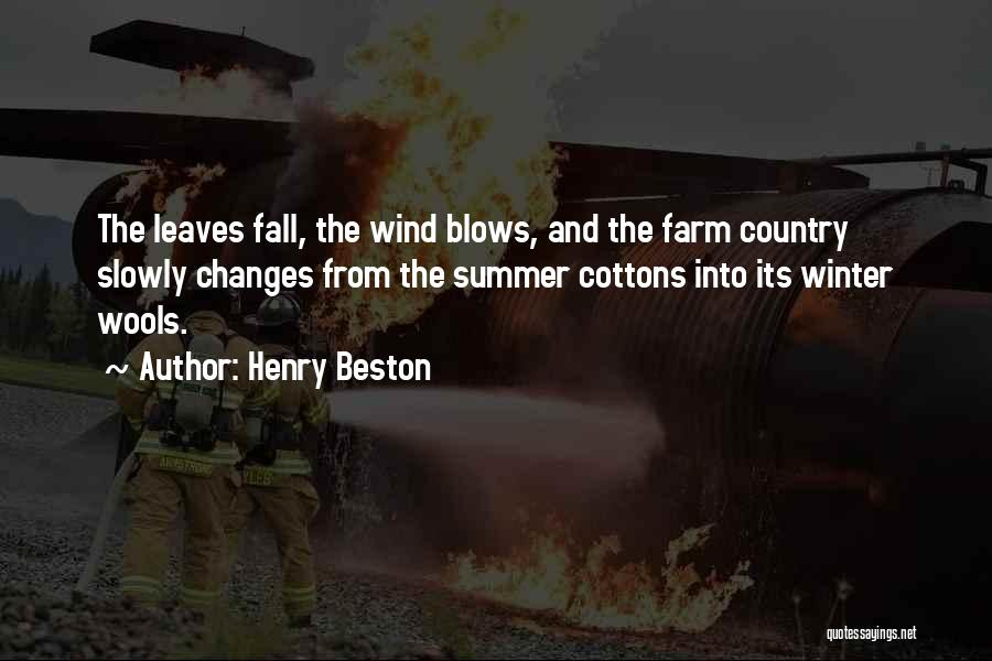 Fall And Winter Quotes By Henry Beston