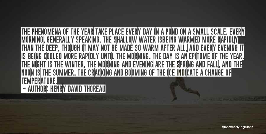 Fall And Winter Quotes By Henry David Thoreau