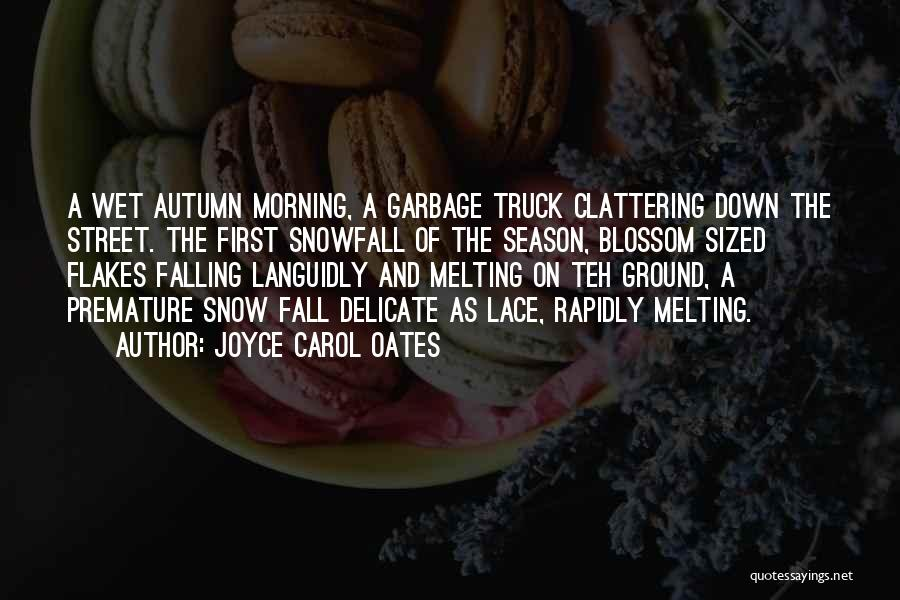 Fall And Winter Quotes By Joyce Carol Oates
