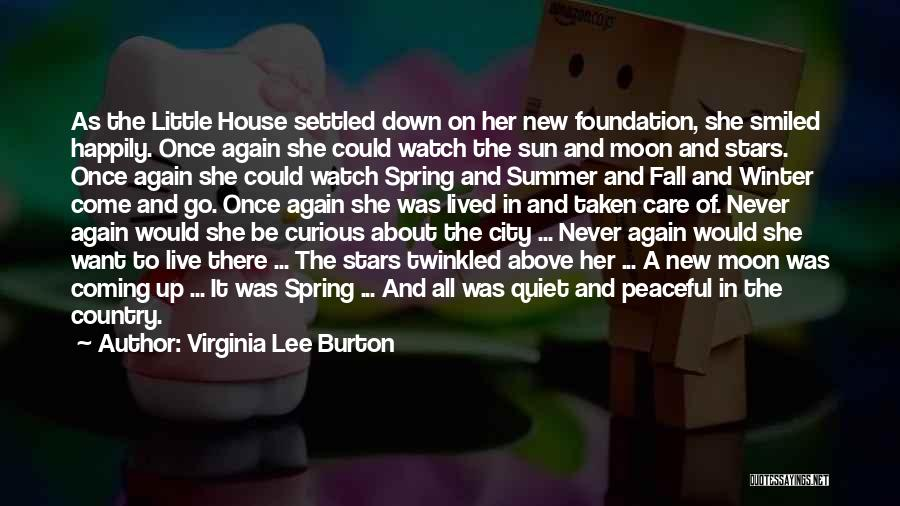 Fall And Winter Quotes By Virginia Lee Burton