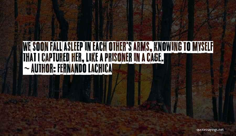 Fall Asleep In Your Arms Quotes By Fernando Lachica