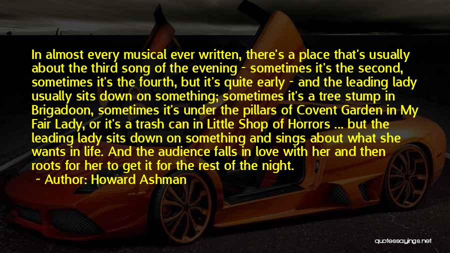 Falling Down In Life Quotes By Howard Ashman