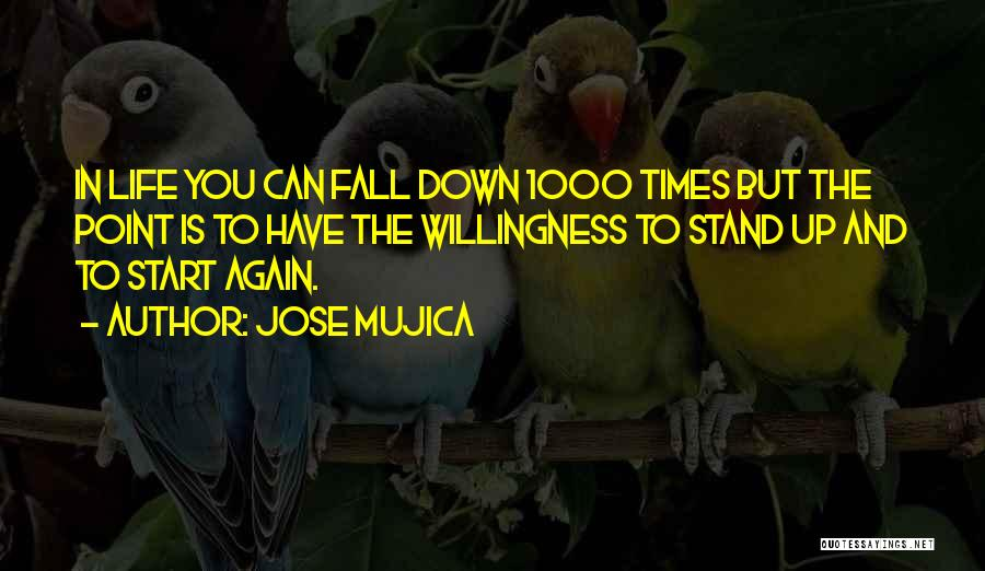 Falling Down In Life Quotes By Jose Mujica